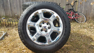 Ford F150 Rims and Tire GoodYear SR-A 275 55 20 (BrandNew)