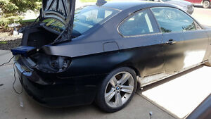 PARTING OUT 2007 BMW 335 E92 N54 6spd manual SALVAGE VANDALIZED