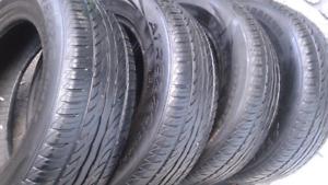 4 excellents pneus d'été 195 65 r15