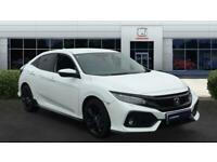 2018 Honda Civic 1.5 VTEC Turbo Sport 5dr CVT Petrol Hatchback Auto Hatchback Pe