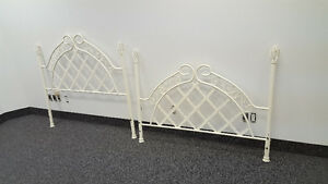 Double Bed Fer Forger head board set