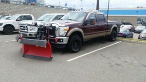 2011 F-250 Lariat 4X4 With V-Plow