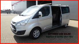 2014 FORD TRANSIT CUSTOM 2.2TDCi 125PS DOUBLE CAB 290 L2H1 NO VAT