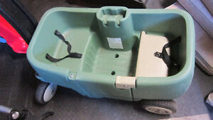 STEP 2 WAGON GREEN CUP HOLDER DOOR..2 SEATER SEE PHONE #