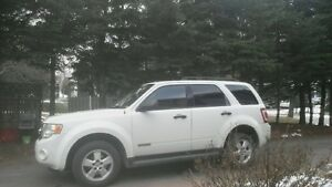 2008 Ford Escape white SUV, Crossover