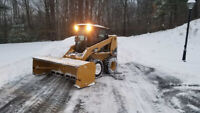 Acreage & Commercial Snow Removal services