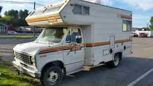 19 ft motorhome ford security.