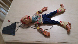 Howdy doody puppet vintage 1950 rare doll