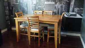 Make me an offer!!! Pub height table and chairs