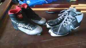 2 pairs NNN cross country ski boots