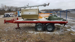 20kw Light Tower on trailer with fuel tank hookup