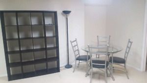 FURNISHED - NO LEASE - ALL INCLUSIVE- 2 Basement  Rooms
