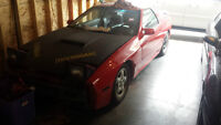 1991 Mazda RX-7 Coupe rolling shell