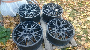 "Mint after market BLACK GTP RIMS 17"" London Ontario image 3"