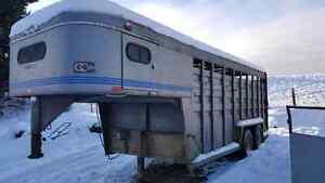 20' stock trailer