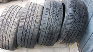 SUV TIRES GOODYEAR EAGLE RS-A P245/55/18 $400.00