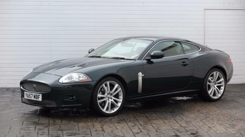2008 jaguar xk 2008 57 jaguar xkr 4 2 litre v8 supercharged petrol green automat in. Black Bedroom Furniture Sets. Home Design Ideas