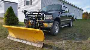 2005 Ford  F250 3/4Ton with Plow