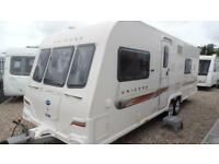 2012 Bailey Unicorn Barcelona TOP OF THE RANGE TWIN AXLE BAILEY