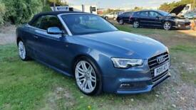 image for 2015 Audi A5 2.0 TDI 177 S Line Special Edition 2dr Automatic  CONVERTIBLE Diese