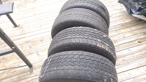 215 60R 16 Tires in good condition
