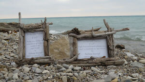 Driftwood photo frames Kitchener / Waterloo Kitchener Area image 1