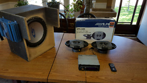 Complete Car Audio System (Alpine)