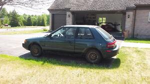 1993 Mazda 323 Coupe (2 door)