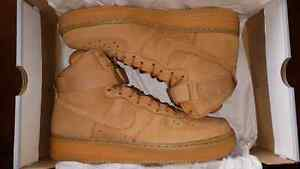 Nike Air Force 1 high Lv8 wheat(flax) size 10.5  London Ontario image 1