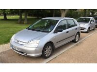 Honda Civic 1.6 (petrol).