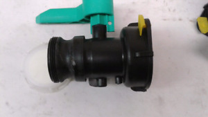 """Valve for IBC tote. S75x6 - 2"""" CamLock"""