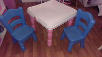 Little tikes kids table and chairs