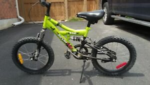 Kids Small  Green Bicycle