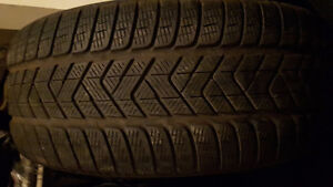 VERY GOOD SET OF 4 MATCHING PIRELLI SCORPIONS P-255-50-R-20