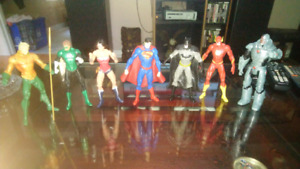 Justice League action figures