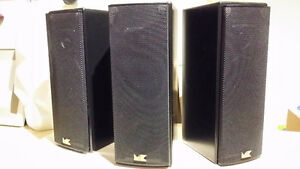 M&K Sound M-7 two-way speakers (3 units) /not JBL Bose Polk Sony