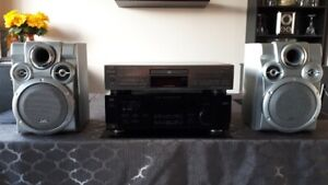 JVC Surround Stereo With Speakers