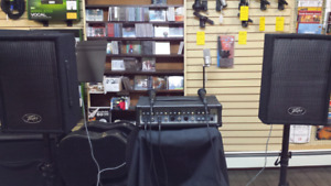 Peavey Audio Performer PA system. New!