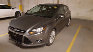 2012 Ford Focus Titanium Hatchback with GPS, dual climate contro