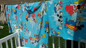 ensemble set de draps lit simple 39 '' pouces enfant Walt Disney