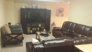 Entire Furnished Basement with kitchenette - Female only