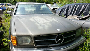 1985 Mercedes 500 SEC, Rare coupe