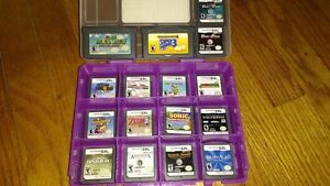 *TESTED, WORKING* Red Mario DS, Case, Charger, Games Kitchener / Waterloo Kitchener Area image 2