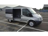 61 REG FORD TRANSIT 2.2TDCi 125 BHP EURO 5 NEW MODEL MWB LOW ROOF EVERY EXTRA