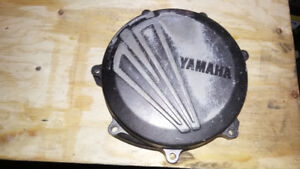Yamaha YZ 250F Clutch Cover/ Couvercle d'Embrayage