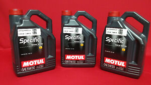 **SAVE NOW** OVER STOCKED ON MOTUL Specific SAE 5W-30