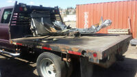 Steel Flatdeck - Parting out Ford F-550.