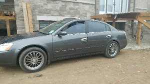 "2004 Nissan Altima with 18"" rims for trade for truck"