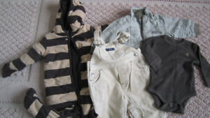 GAP Bunting Coverall/ jacket/ clothes lot 3-9 months