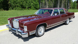 79 Lincoln TOWN CAR SECOND OWNER 92K